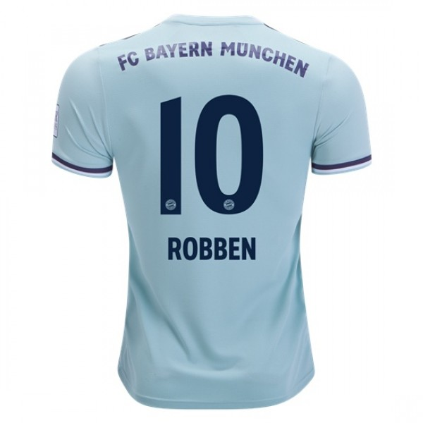 competitive price 37f10 aaaa9 Bayern Munich #10 ROBBEN Away Jersey 18/19