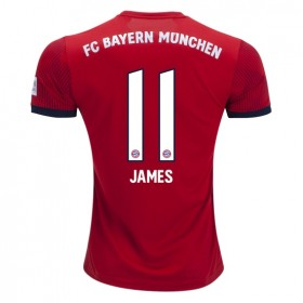 Bayern Munich #11 JAMES Home Jersey 18/19