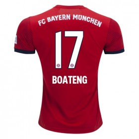 Bayern Munich #17 BOATENG Home Jersey 18/19