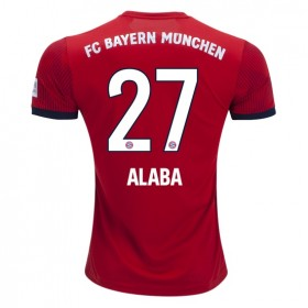 Bayern Munich #27 ALABA Home Jersey 18/19