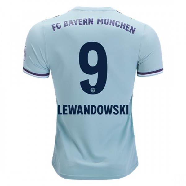 various colors 50636 11f3c Bayern Munich #9 LEWANDOWSKI Away Jersey 18/19