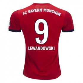 Bayern Munich #9 LEWANDOWSKI Home Jersey 18/19