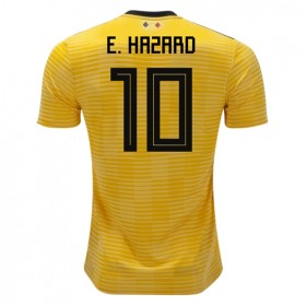 Belgium World-Cup #10 E. Hazard Away Jersey 2018