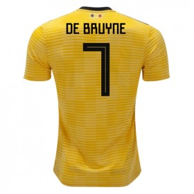 Belgium World-Cup #7 DE BRUYNE Away Jersey 2018