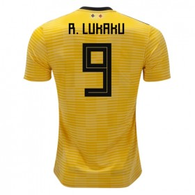 Belgium World-Cup #9 R. LUKAKU Away Jersey 2018