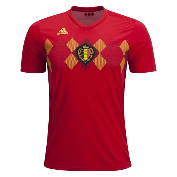 Belgium World-Cup Home Jersey 2018 (Customizable)