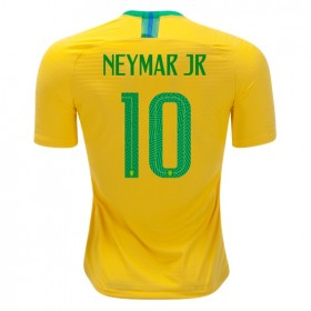 Brazil World-Cup #10 NEYMAR JR Home Jersey 2018
