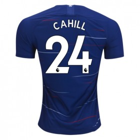 Chelsea #24 CAHILL Home Jersey 18/19