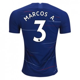 Chelsea #3 MARCOS A. Home Jersey 18/19