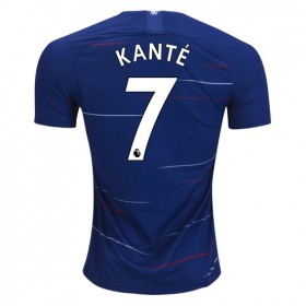 Chelsea #7 KANTE Home Jersey 18/19