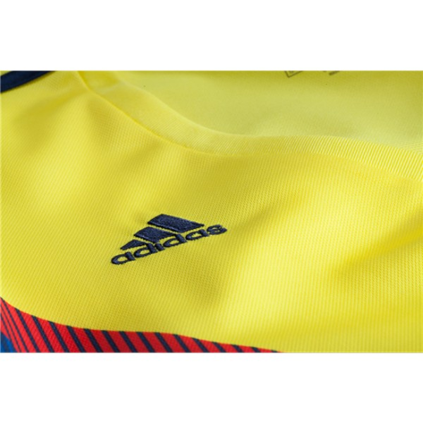 more photos c6271 dad26 Colombia World-Cup #10 JAMES Home Jersey 2018