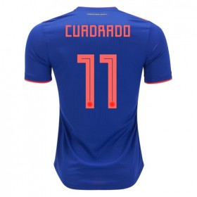 Colombia World-Cup #11 CUADRADO Away Jersey 2018
