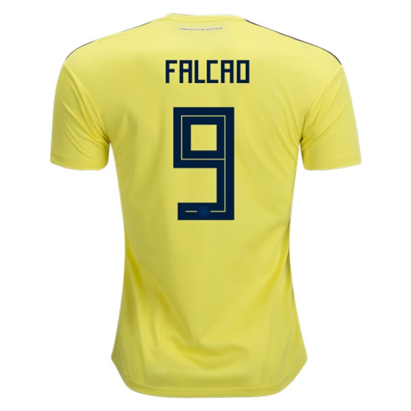 Colombia World-Cup #9 FALCAO Home Jersey 2018