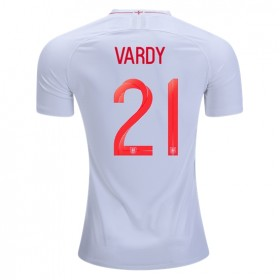 England World-Cup #21 Vardy Home Jersey 2018