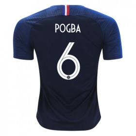 France World-Cup #6 POGBA Home Jersey 2018