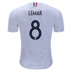 France World-Cup #8 LEMAR Away Jersey 2018