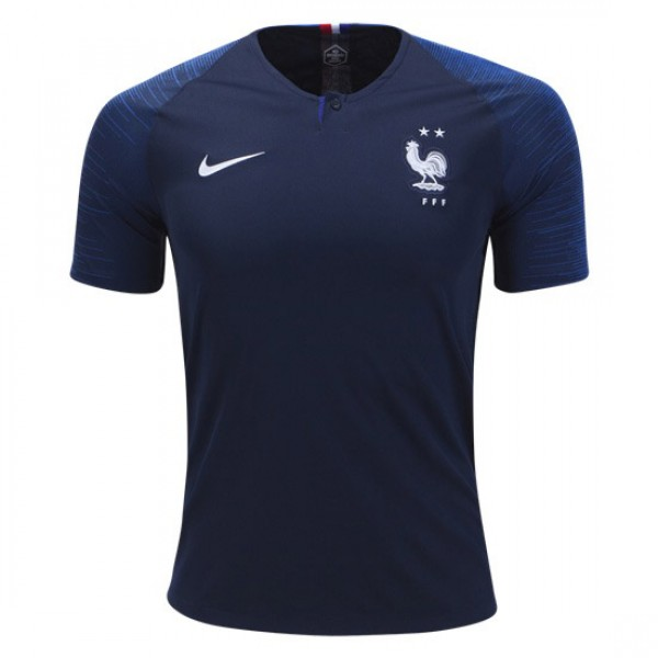 France World-Cup Home Jersey 2018 (Customizable)