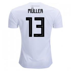 Germany World-Cup #13 MULLER Home Jersey 2018