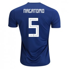 Japan World-Cup #5 NAGATOMO Home Jersey 2018