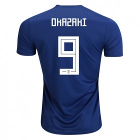 Japan World-Cup #9 OKAZAKI Home Jersey 2018