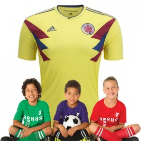 Kid's Colombia World-Cup Home Suit 2018(Customizable)