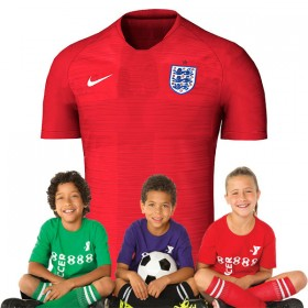 Kid's England World-Cup Away Suit 2018(Customizable)