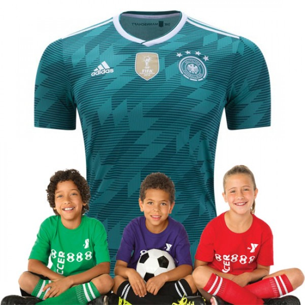 Kid's Germany World-Cup Away Suit 2018(Customizable)