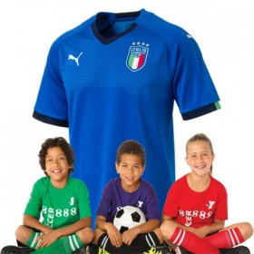 Kid's Italy World-Cup Home Suit 2018(Customizable)