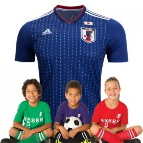Kid's Japan World-Cup Home Suit 2018(Customizable)