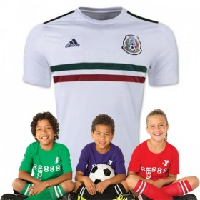 Kid's Mexico World-Cup Away Suit 2018(Customizable)