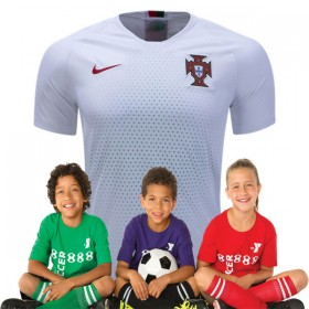 Kid's Portugal World-Cup Away Suit 2018(Customizable)