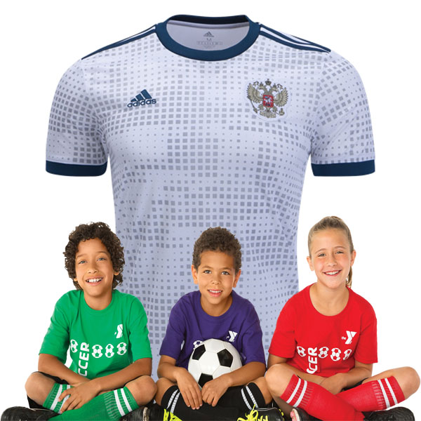 Kid's Russia World-Cup Away Suit 2018(Customizable)