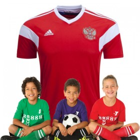 Kid's Russia World-Cup Home Suit 2018(Customizable)