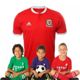Kid's Wales World-Cup Home Suit 2018(Customizable)