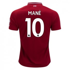 Liverpool #10 MANE Home Jersey 18/19