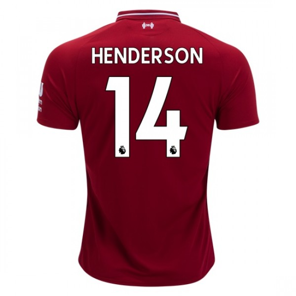 Liverpool #14 HENDERSON Home Jersey 18/19