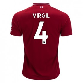 Liverpool #4 VIRGIL Home Jersey 18/19