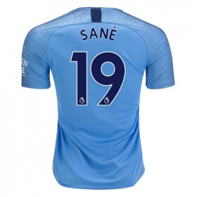 Manchester City #19 SANE Home Jersey 18/19