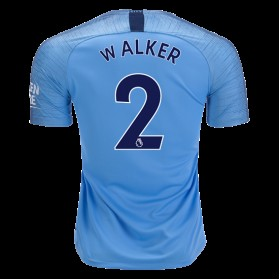 Manchester City #2 WALKER Home Jersey 18/19