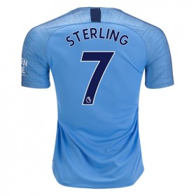 Manchester City #7 STERLING Home Jersey 18/19