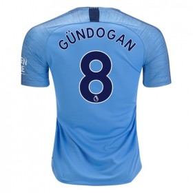 Manchester City #8 GUNDOGAN Home Jersey 18/19