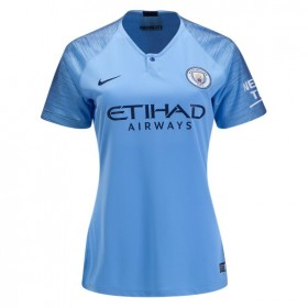 Manchester City Women's Home Jersey 18/19 (Customizable)