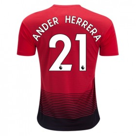 Manchester United #21 ANDER HERRERA Home Jersey 18/19