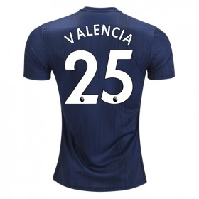 Manchester United #25 VALENCIA Third Jersey 18/19