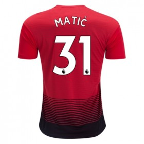 Manchester United #31 MATIC Home Jersey 18/19
