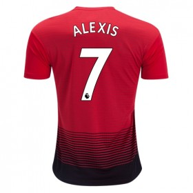 Manchester United #7 ALEXIS Home Jersey 18/19