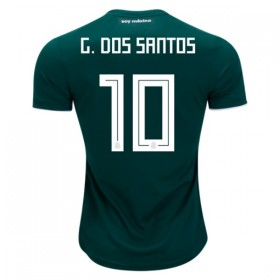Mexico World-Cup #10 G. DOS SANTOS Home Jersey 2018