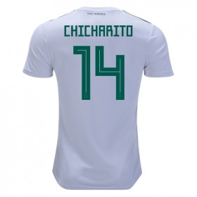 Mexico World-Cup #14 CHICHARITO Away Jersey 2018
