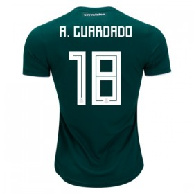 Mexico World-Cup #18 A. GUARDADO Home Jersey 2018