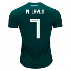 Mexico World-Cup #7 M. LAYUN Home Jersey 2018